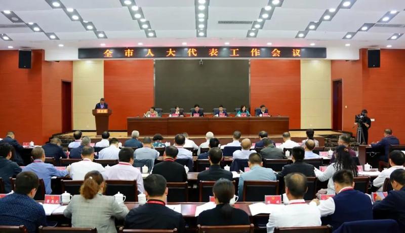 全市人大代表工作会议在印江召开