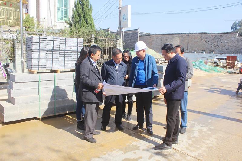 熊光奎率队开展铜仁古城保护立法第一次专题调研