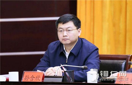 市委副书记孙含欣出席会议